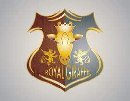 #96 para Royal Giraffe Logo for Website blog por manpreetsingh009