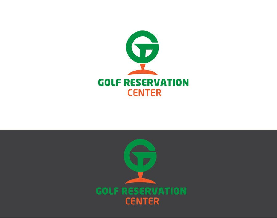 Kilpailutyö #1 kilpailussa Golf Reservation Center Logo Contest