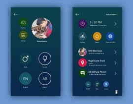 Nro 5 kilpailuun Design an App Mockup käyttäjältä saepulgranz
