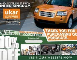#62 for Design a Flyer for online Land Rover auto parts store. by dekaszhilarious