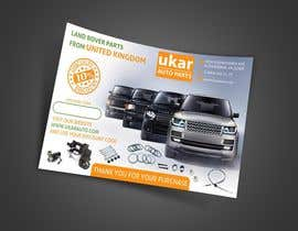 #70 for Design a Flyer for online Land Rover auto parts store. by nuwantha2020