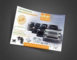 nuwantha2020 tarafından Design a Flyer for online Land Rover auto parts store. için no 70
