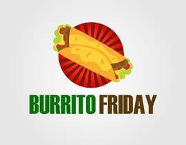 Nro 25 kilpailuun BurritoFriday Logo käyttäjältä sasasugee