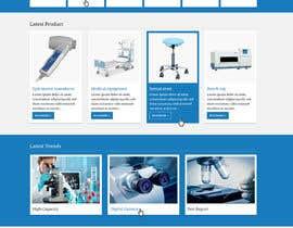 Nro 13 kilpailuun Design a Website Mockup käyttäjältä maniapp92