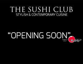 "#7 para Design banner and Business Card for ""The Sushi Club"" por ayogairsyad"