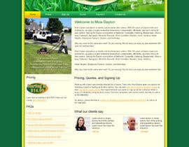 nº 8 pour Build a Website for Mow Dayton par webidea12