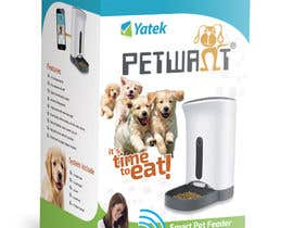Crissmamel tarafından Create Print and Packaging Designs: Automatic Pet Feeder için no 8
