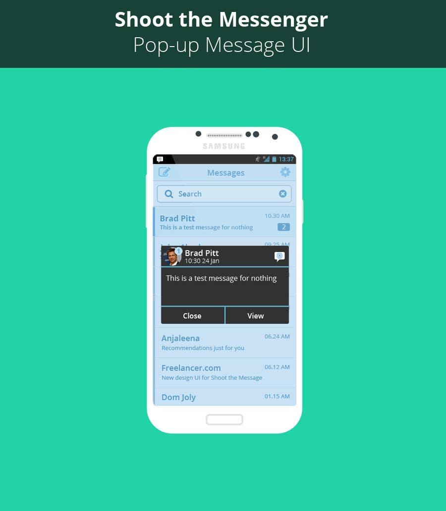 Inscrição nº                                         20                                      do Concurso para                                         Design an App Mockup for Android application