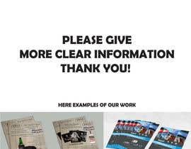 Nro 4 kilpailuun Design a Brochure käyttäjältä creativeOleg