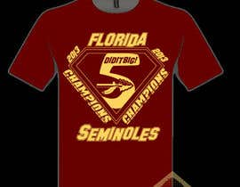 nº 2 pour Design a T-Shirt for FSU BCS Champs par TSZDESIGNS