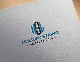 farzana1994 tarafından Logo for website called 'holiday string lights' için no 24