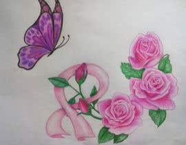 Nro 22 kilpailuun Design a tattoo to cover breast cancer surgery scars käyttäjältä carilon