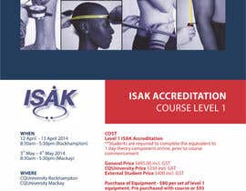 #3 para Design a Brochure for an Level 1 ISAK course the will be used as a PDF brochure only por barinix
