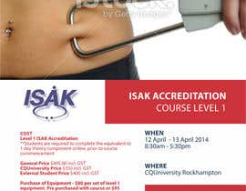 #20 para Design a Brochure for an Level 1 ISAK course the will be used as a PDF brochure only por barinix