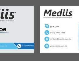 Nro 8 kilpailuun Diseñar tarjeta de presentación para empresa de venta de equipo médico käyttäjältä APDB