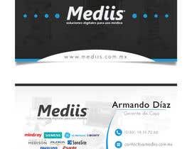 Nro 7 kilpailuun Diseñar tarjeta de presentación para empresa de venta de equipo médico käyttäjältä ivans1698
