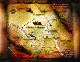 #13 for Make a fantasy map for my book by justinjob007