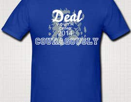 "#87 para Design a T-Shirt with the slogan ""Deal Courageously"" por sandrajoseph20"