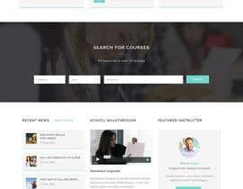 Nro 3 kilpailuun Modern Tech-Orientated Education Based Website käyttäjältä wingsas