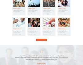 Nro 6 kilpailuun Modern Tech-Orientated Education Based Website käyttäjältä nextdesign2007
