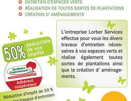 #19 for Flyer pour paysagiste by bab55z