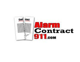 #125 for Design a Logo for Alarm Contract 911 by kaziahmed91