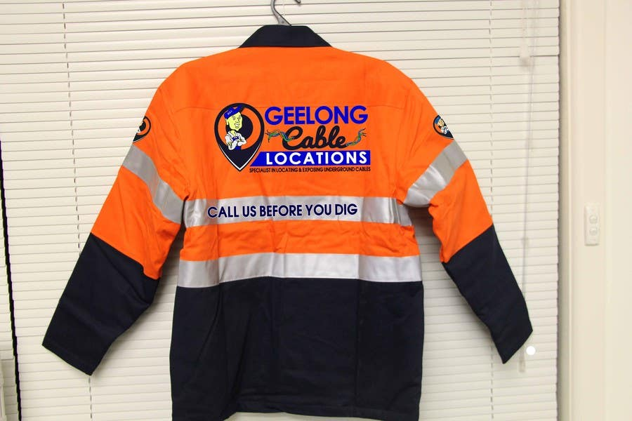 Contest Entry #                                        39                                      for                                         Design some embroidery the for Geelong Cable Locations uniform.