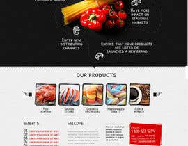 #3 for Design a Website Mockup for a Wholesale food distributor af tania06