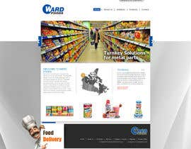 #28 para Design a Website Mockup for a Wholesale food distributor por ANALYSTEYE