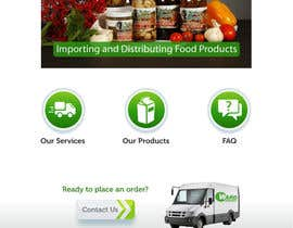 #18 para Design a Website Mockup for a Wholesale food distributor por nole1