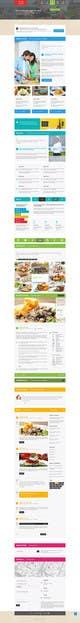 Kilpailutyön #16 pienoiskuva kilpailussa Design a Website Mockup for a Wholesale food distributor