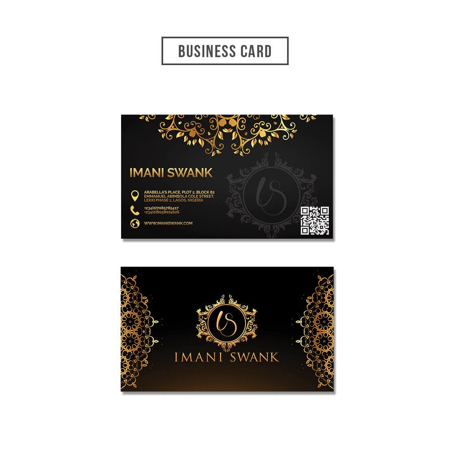 Entry 39 by timimalik for business card for a bridal store freelancer contest entry 39 for business card for a bridal store reheart Gallery