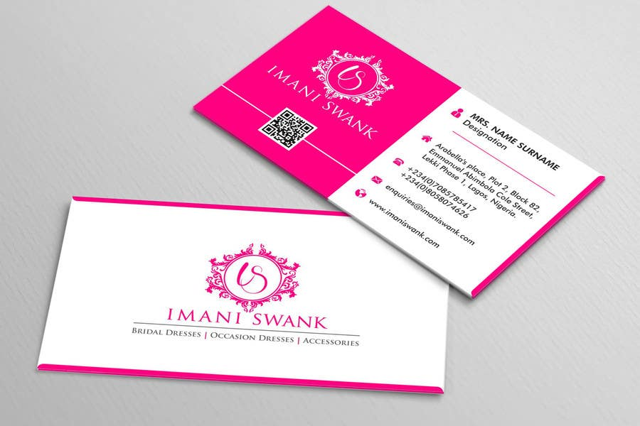 Entry 25 by atuljparmar for business card for a bridal store contest entry 25 for business card for a bridal store reheart Images