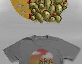 Nro 11 kilpailuun Cactus Redesign For T-shirt Print käyttäjältä AidaRamirez