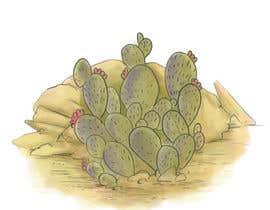 Nro 13 kilpailuun Cactus Redesign For T-shirt Print käyttäjältä marinasanc