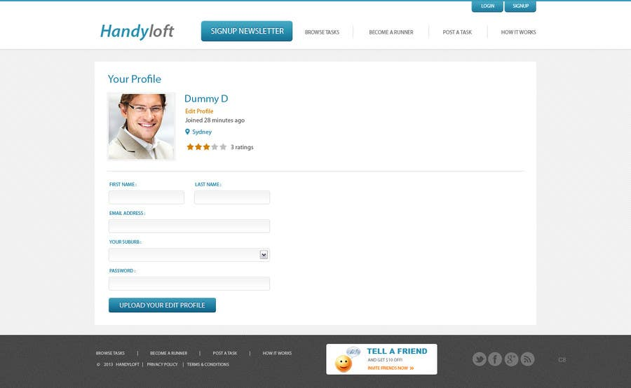 Proposition n°24 du concours Drupal - Redirect user after login to Panels page