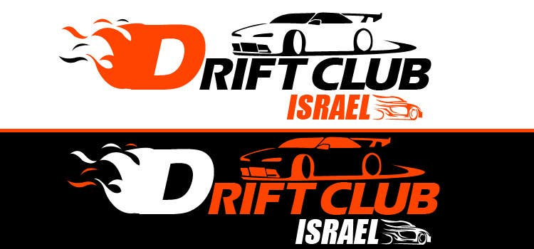 #38 for Design a Logo for DRIFT CLUB ISRAEL by harmonyinfotech