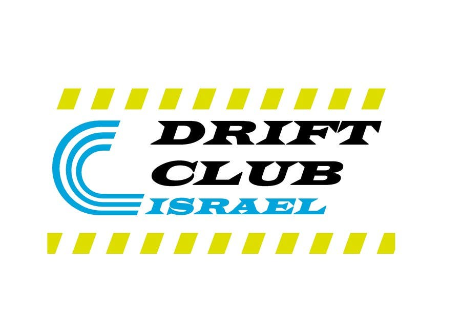 #97 for Design a Logo for DRIFT CLUB ISRAEL by tsaarch