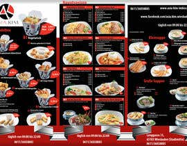 #2 for Design a 3 Folded Flyer A4 for a restaurant. by andrei11