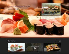 #67 cho Design a Website Mockup for a Restaurant bởi deshiconcept