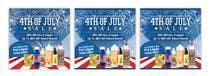 Graphic Design Kilpailutyö #8 kilpailuun Email Marketing Banner For July 4th (US Holiday)