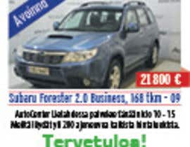 #31 for Re-design car dealer newspaper ad's af bariscelikgsl