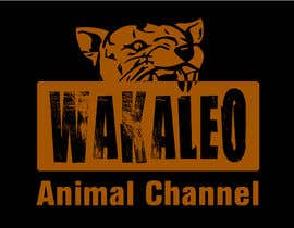 #121 untuk Design a logo for the Wakaleo animal channel! oleh guilherme88