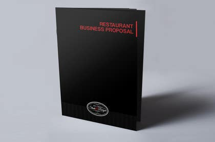 nº 26 pour Business Proposal for Restaurant (Booklet & Menu) par chubbycreations