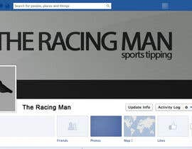 mogosalexandru tarafından The Racing Man - I need a Facebook Profile picture and cover photo designed için no 47