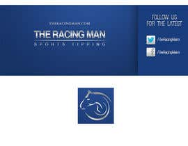 MaynardDesign tarafından The Racing Man - I need a Facebook Profile picture and cover photo designed için no 43