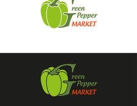 #106 for Design Green Pepper Market Logo by YuriiMak