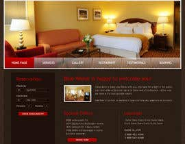 #34 para Website Design for Hotels and Resorts por mediabeams