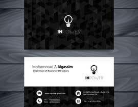 hmzajmal tarafından Design a Business card for a company için no 86