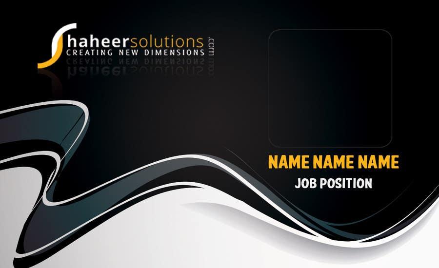 Kilpailutyö #11 kilpailussa Employee Identity card design.